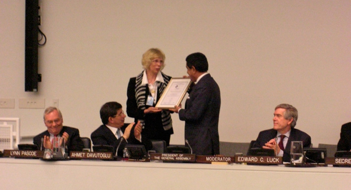 PGA H.E. Al-Nasser accepting the Award.JPG